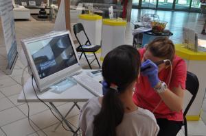 Alfamedica, urodziny Auchan, laserowe badanie zębów