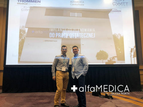 Konferencja Nowe trendy w implantologii i chirurgii przyzębia. C.Witt